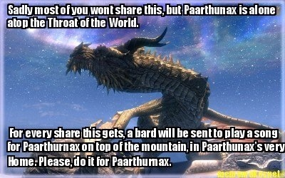 Lonely Paarthurnax