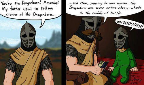 Skyrim Guard's Bedtime Story