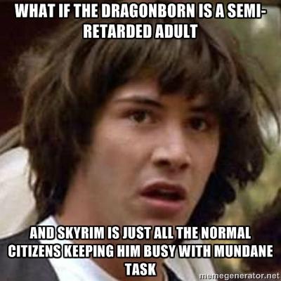 Skyrim Conspiracy Keanu