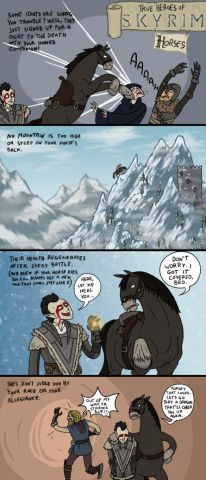 The True Heroes of Skyrim