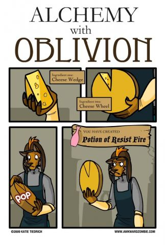 Alchemy in Oblivion
