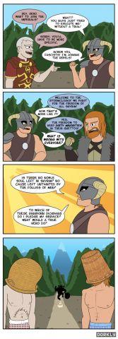 Stormcloaks vs. Imperials