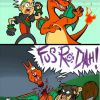 Skyrim Pokemon Battle