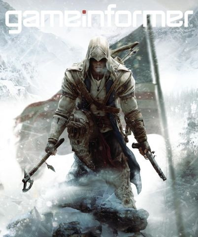 Assassins Creed III Game Informer Cover