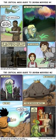 The Types of Skyrim Modders