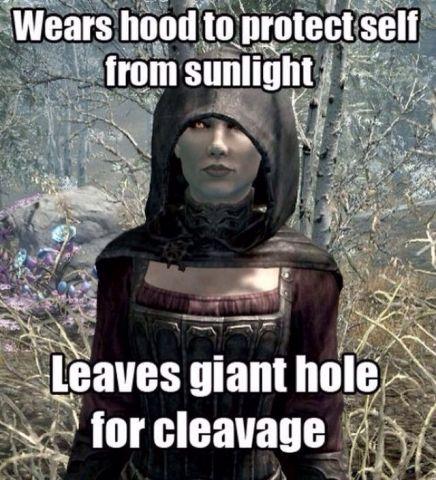 Skyrim Vampire Logic