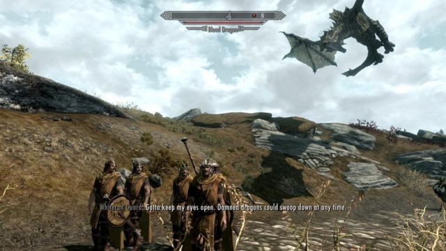 Skyrim Guard Incompetence