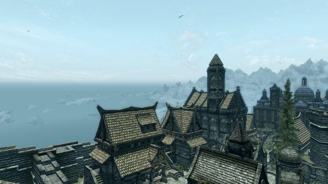 Winterhold from Solitude
