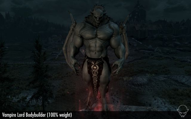 Vampire Lord Bodybuilder