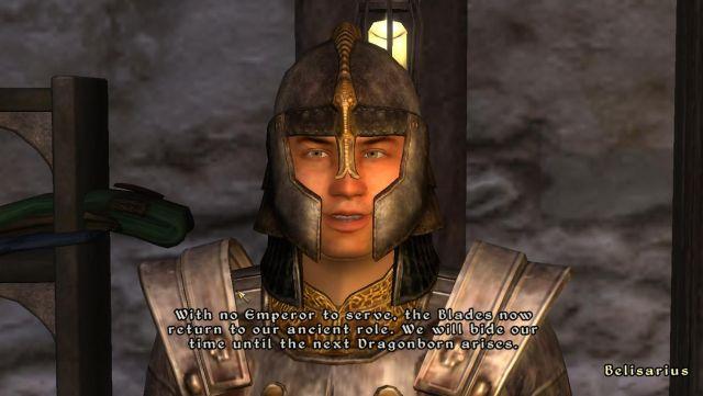 Skyrim Hinted in Oblivion