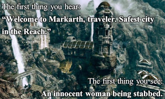 The Irony of Markarth