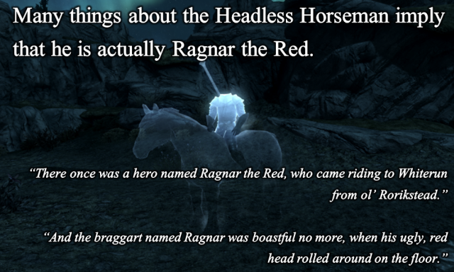 The Headless Horseman - Ragnar the Red?