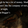 Medesi Sleeps at Beggar's Row