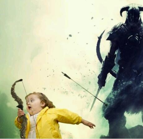arrow To The knee funny skyrim picture 1