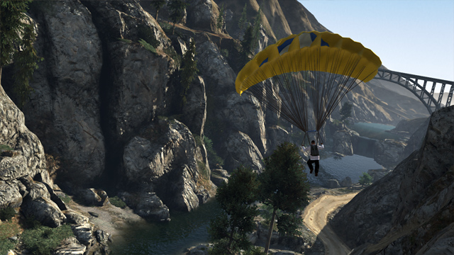 GTA:V - Parachuting