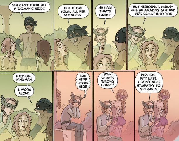 Just some Oglaf. Midly NSFW