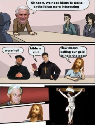 Catholic Boardroom Suggestion